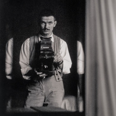 John Brook self portrait